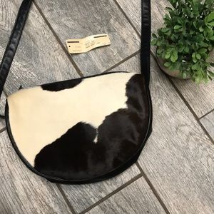 RARE Vintage Calf Hair Halston Bag